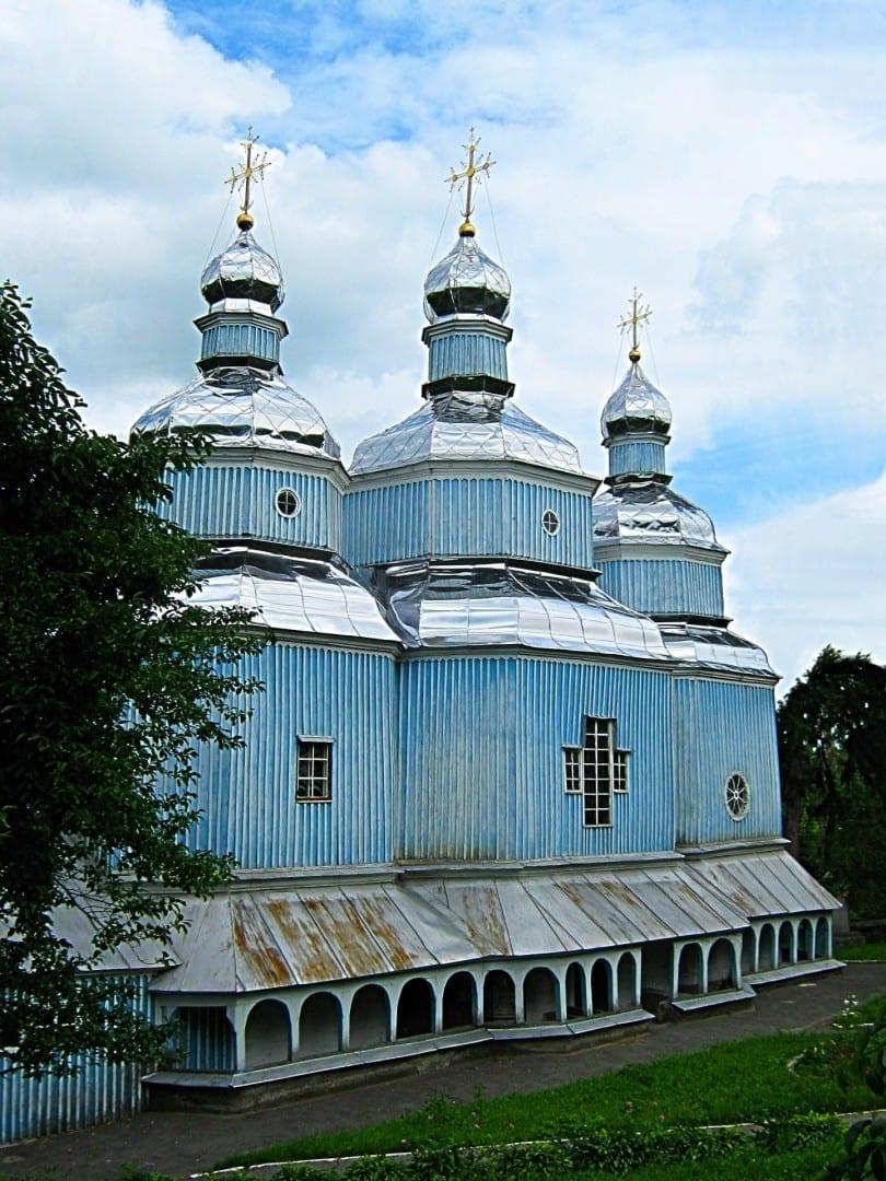 Iglesia de San Nicolás (1746) Vinnytsia Ucrania