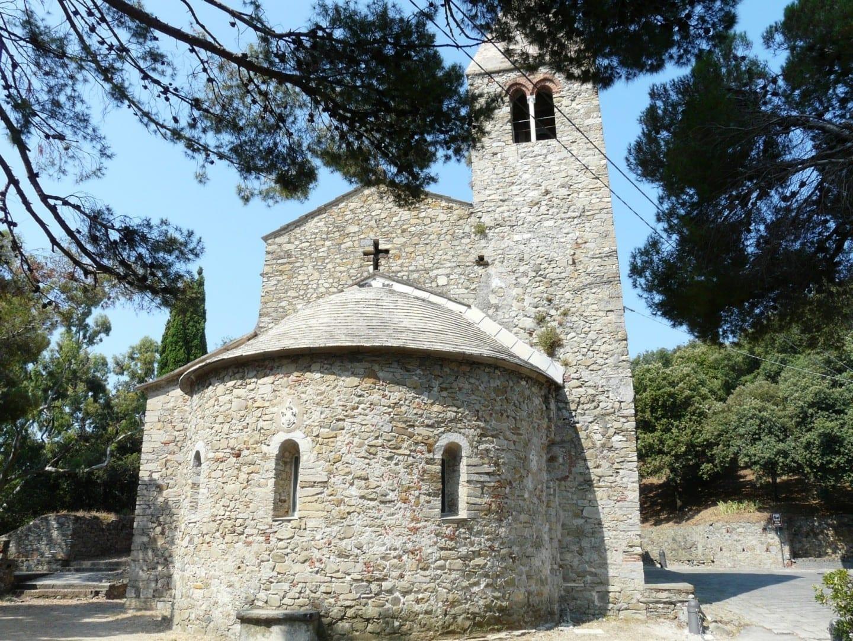 Iglesia de San Nicolò dell'Isola Sestri Levante Italia