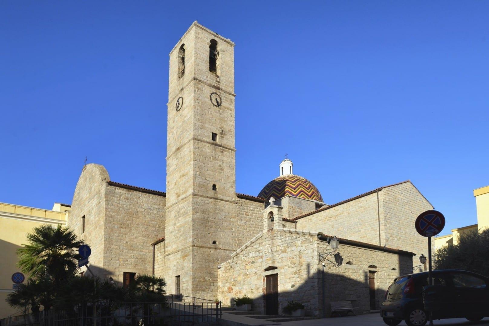 Iglesia de San Pablo Olbia Tempio Italia