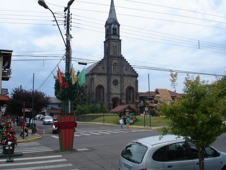 Iglesia de San Pedro Gramado Brasil