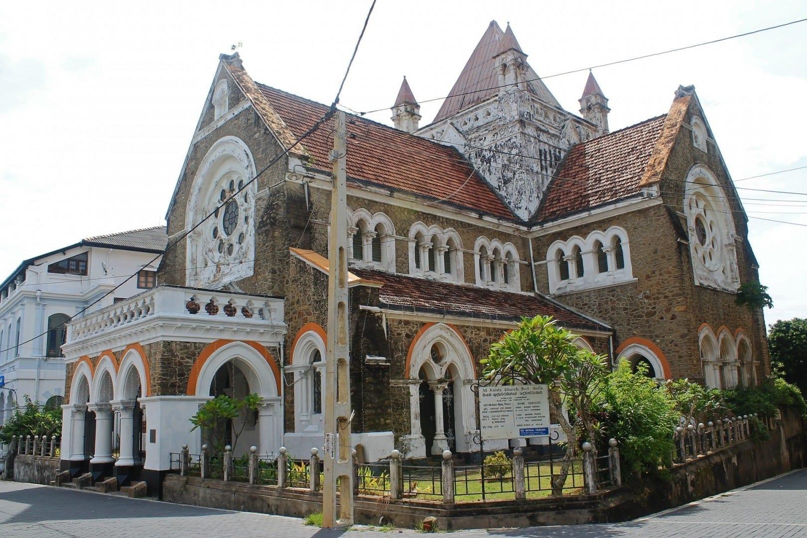 Iglesia de todos los Santos Galle Sri Lanka