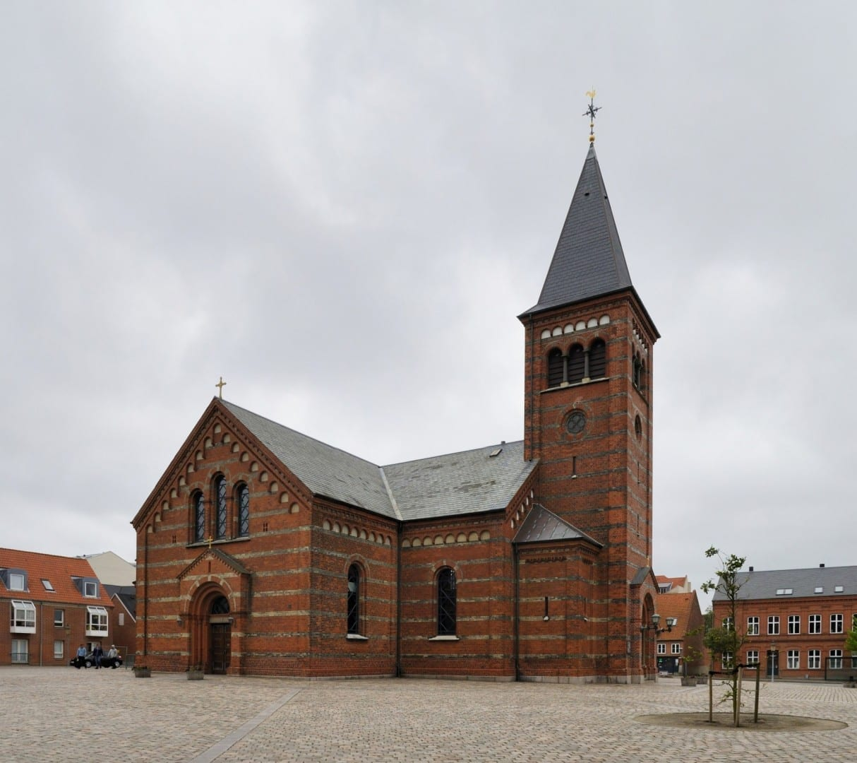 Iglesia de Vor Frelsers Esbjerg Dinamarca