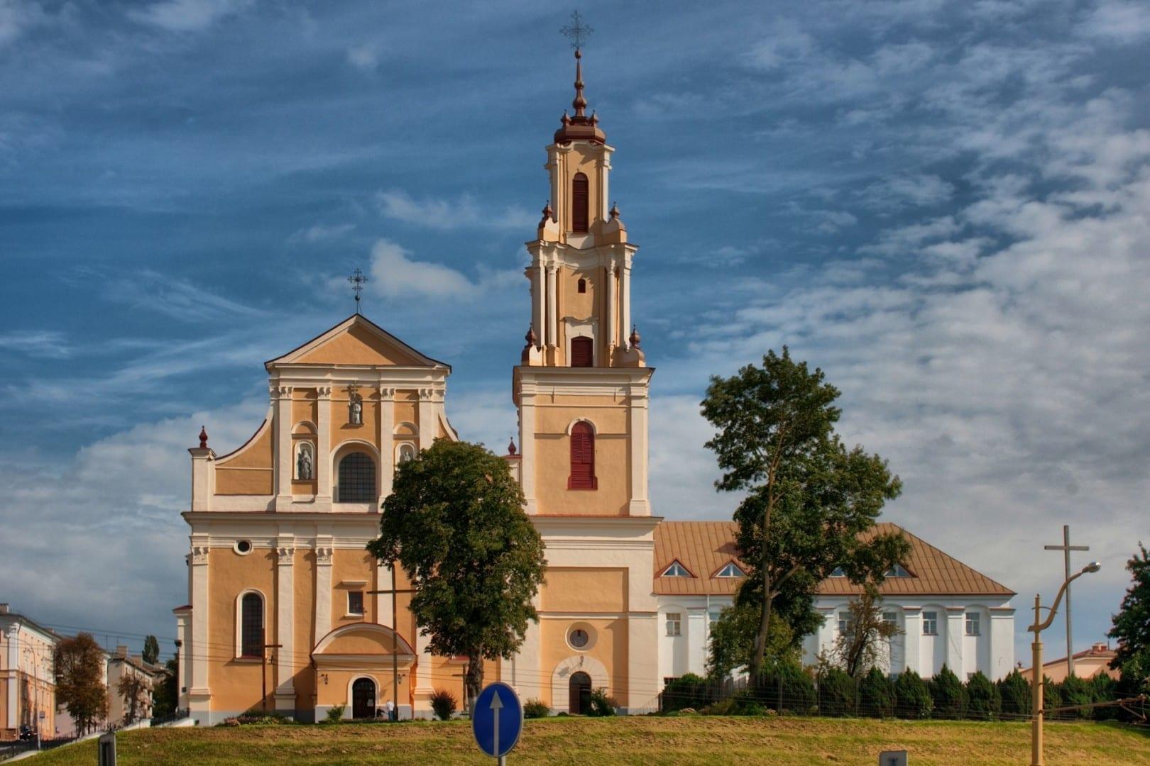 Iglesia del Descubrimiento de la Santa Cruz Grodno Bielorrusia