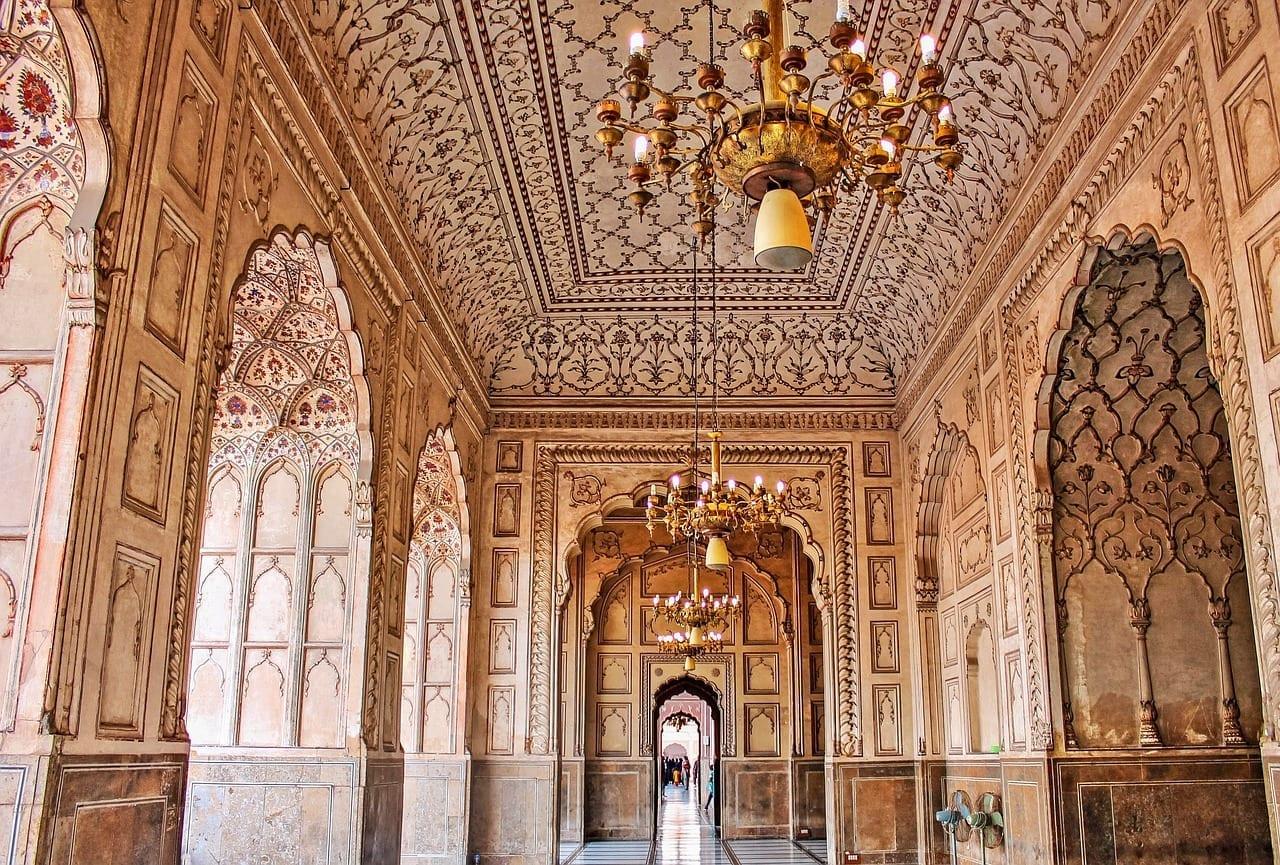 Interior Lahore Mughal Pakistán