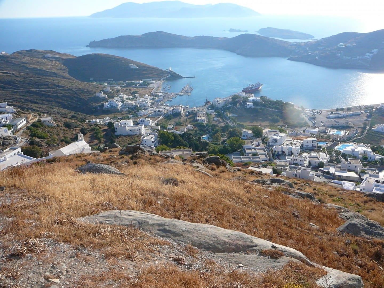 Ios Harbor ios Grecia