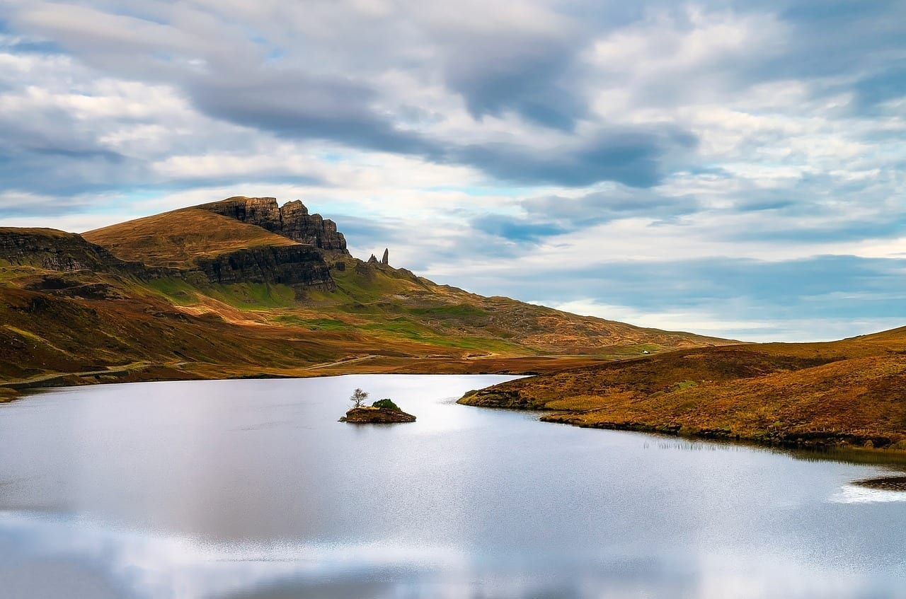Isla De Skye Escocia Cielo Reino Unido