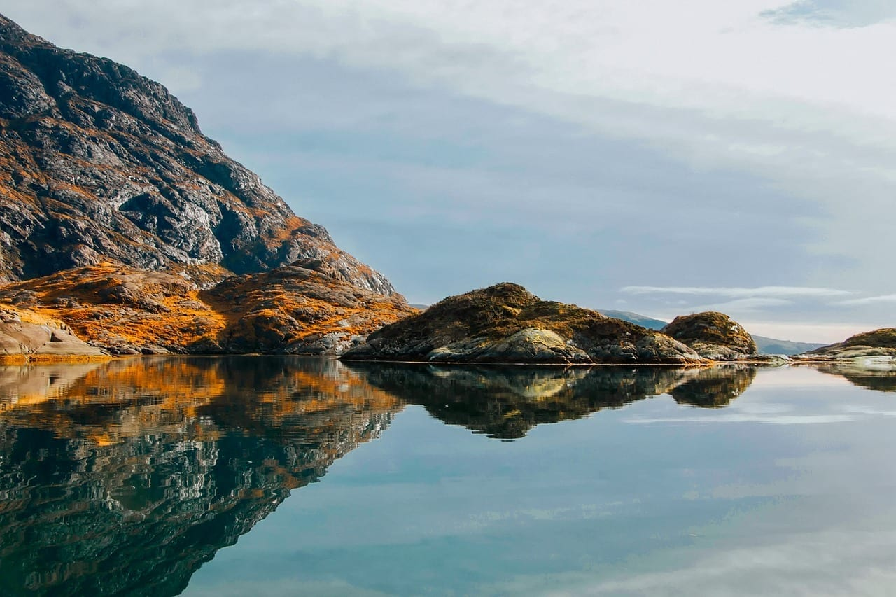 Isla De Skye Escocia Mar Reino Unido