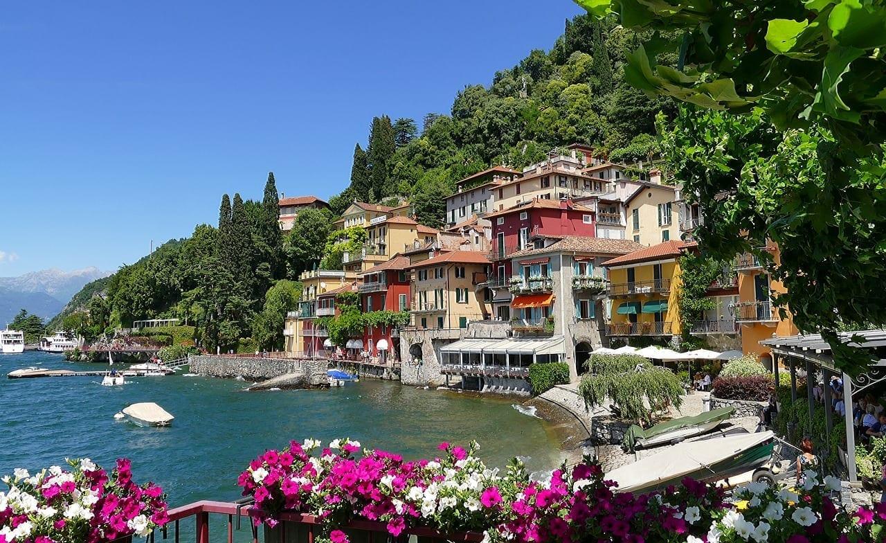 Italia Lago De Como Varenna Italia