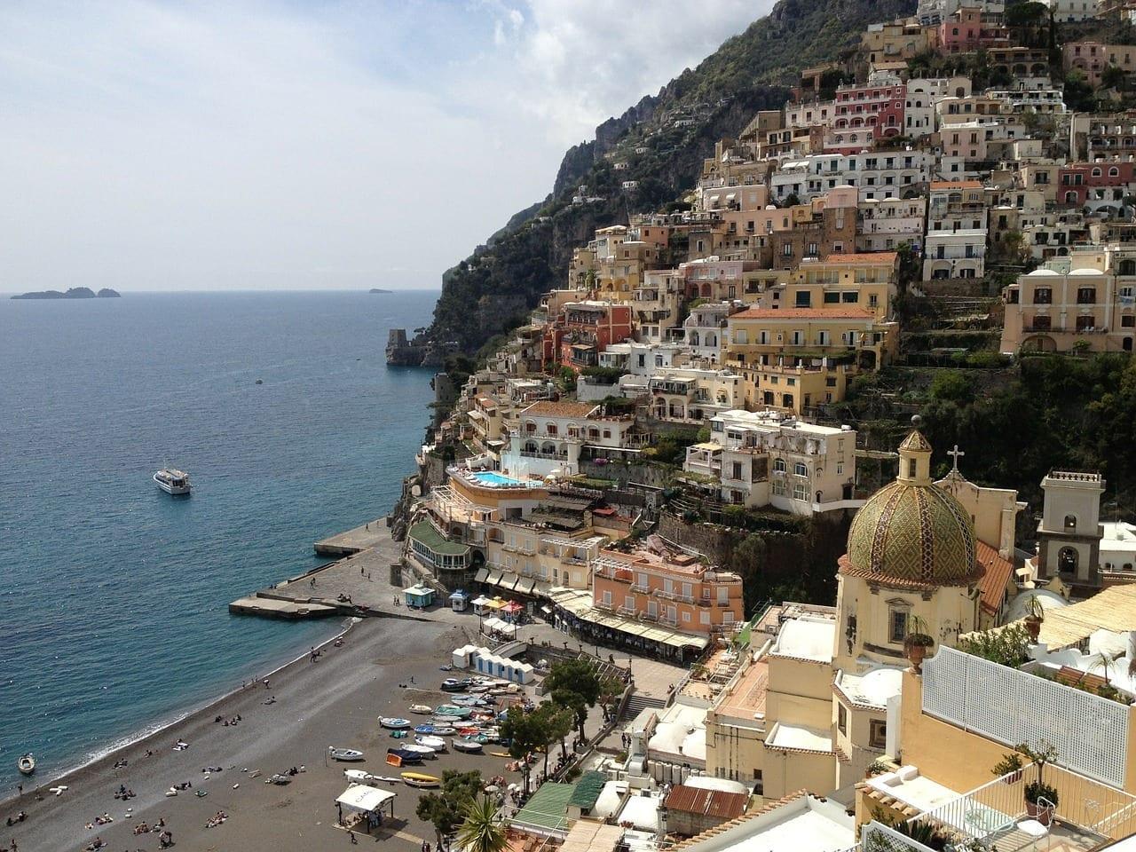 Italia Positano Naturaleza Italia