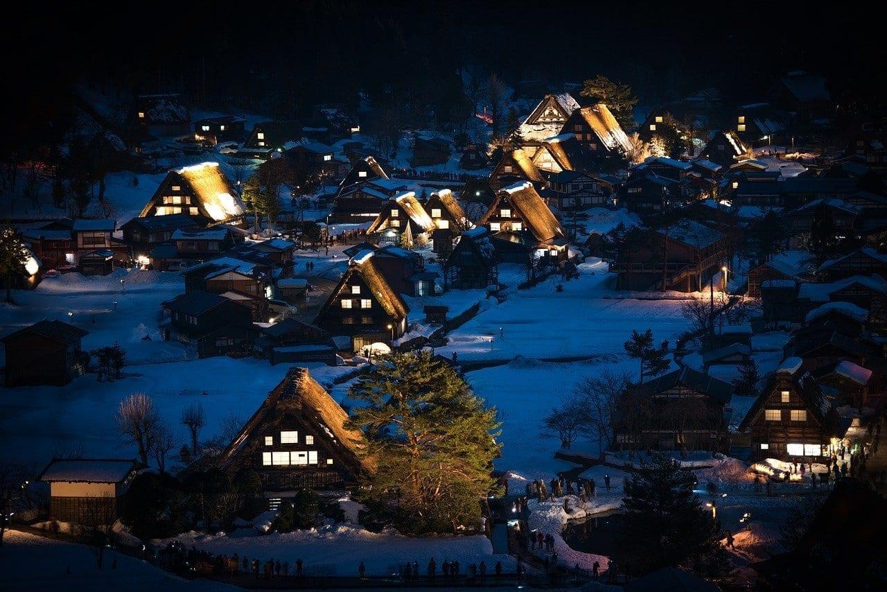 Japón Shirakawa-go Gifu Japón