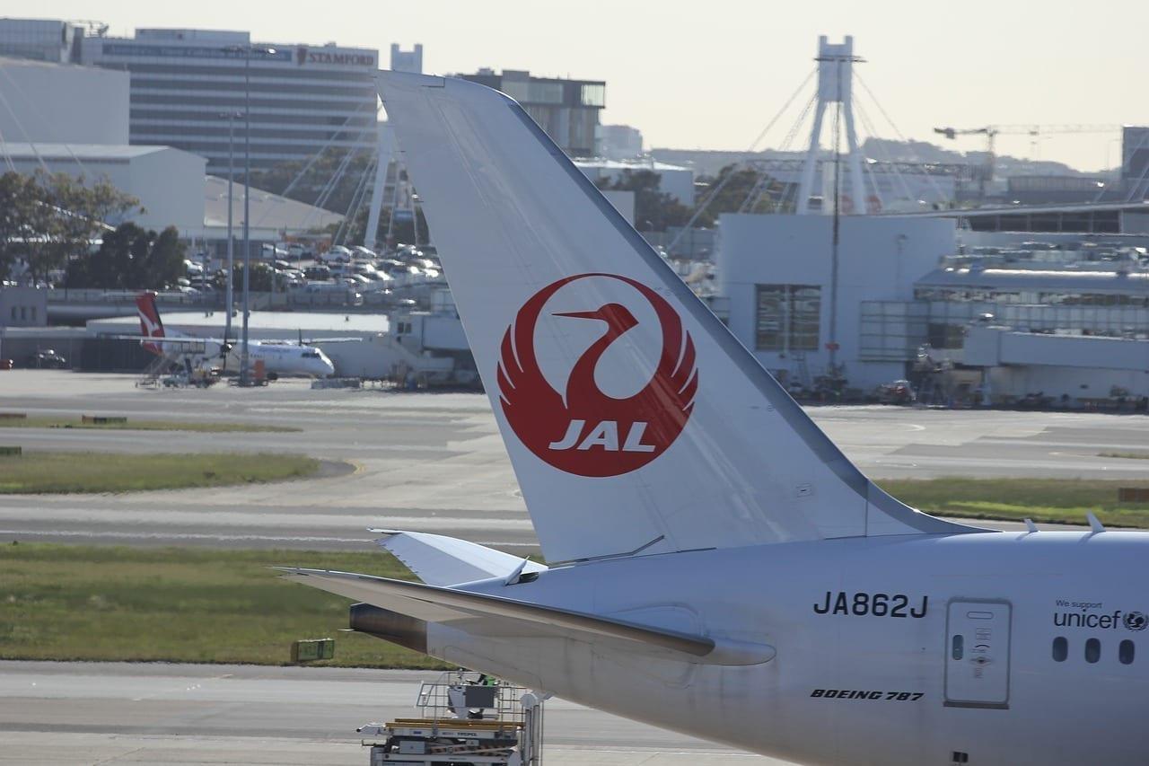 Japan Airlines Etiquetas Nikko Japón
