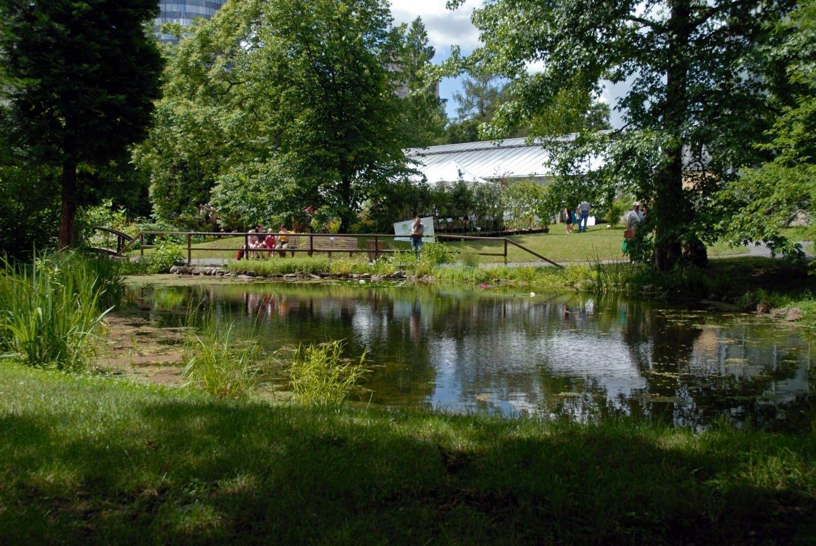Jardín botánico Jena Alemania