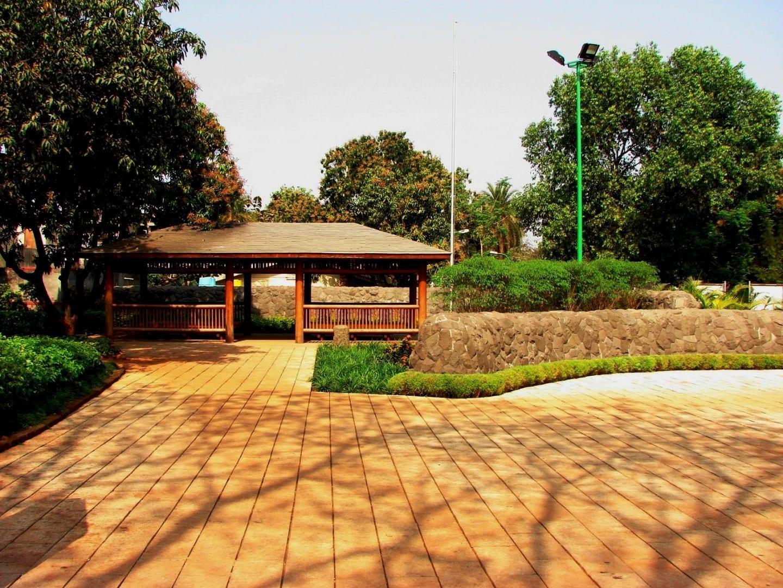 Jardín de Pu La Deshpande Pune India