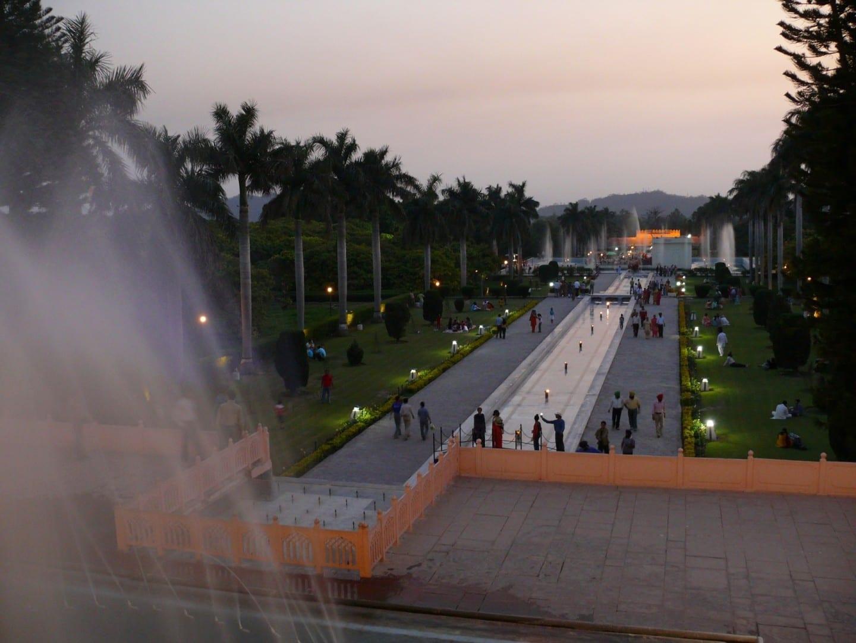 Jardines de Pinjore Chandigarh India