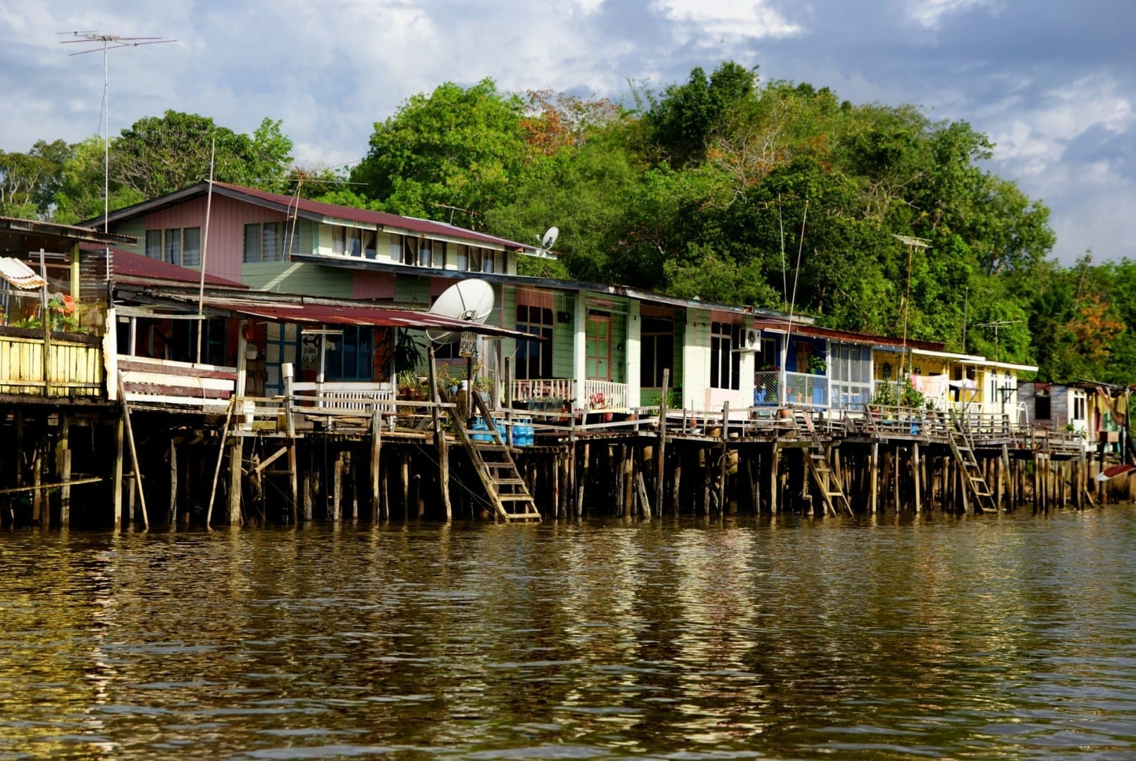Kampong Ayer Bandar Seri Begawan Brunei