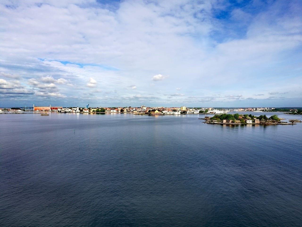 Karlskrona Suecia Mar Suecia