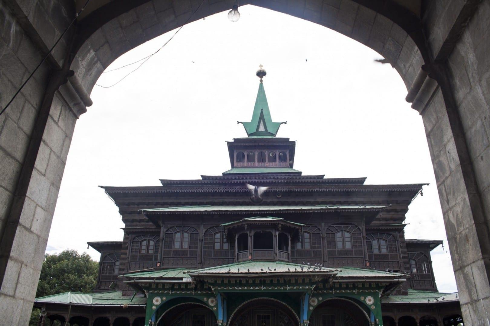 Khan Qah de Shah Hamadan Srinagar India