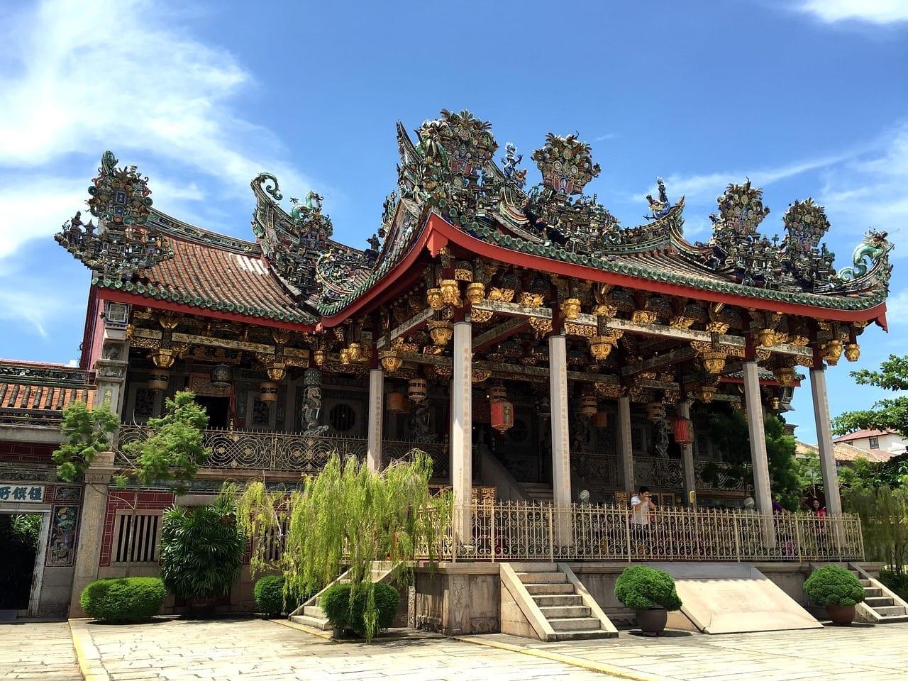 Khoo Kongsi Chino Clan Casa Penang Malasia
