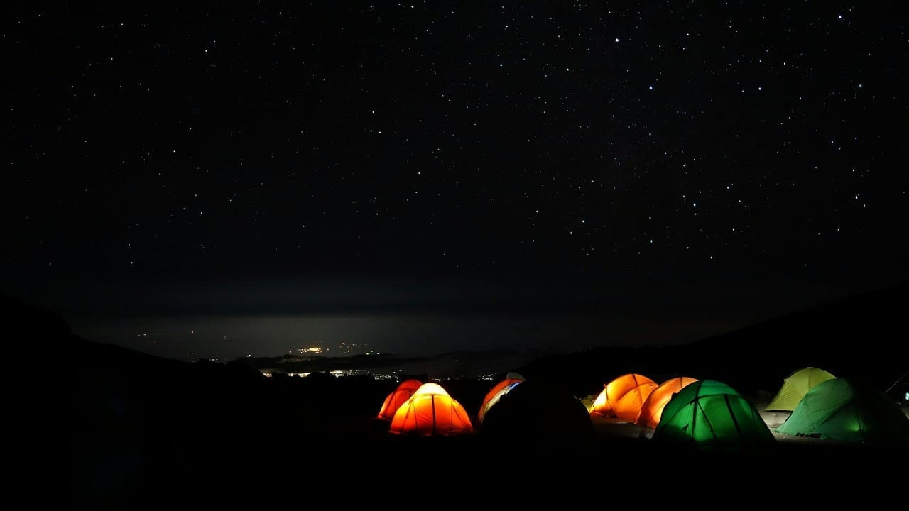 Kilimanjaro Montaña Campamento De Barranco Tanzania