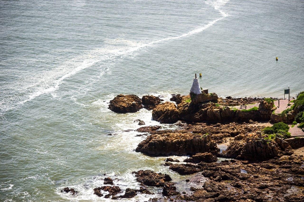Knysna Heads Sudáfrica Mar República de Sudáfrica