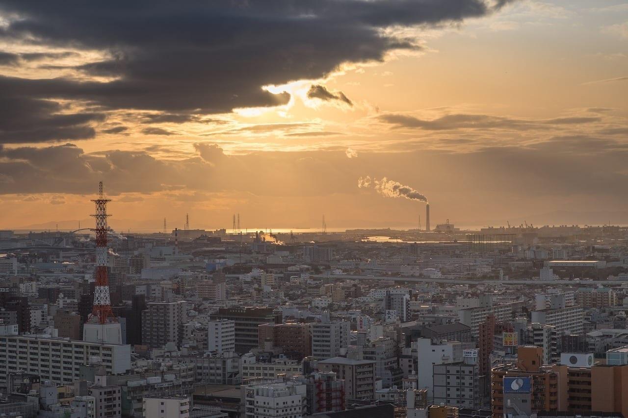 Kobe Japón Puerto Japón