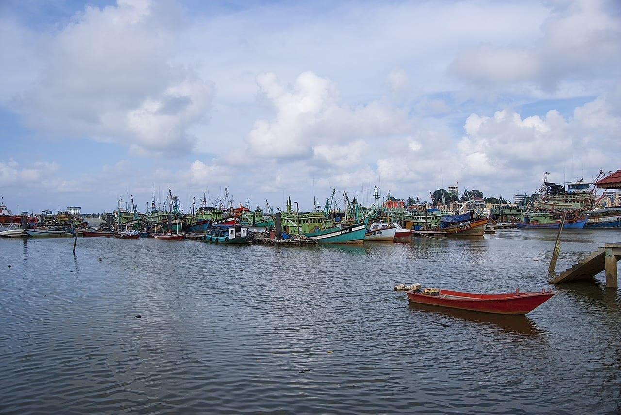 Kuala Terengganu Pulau Duyong Malasia Malasia