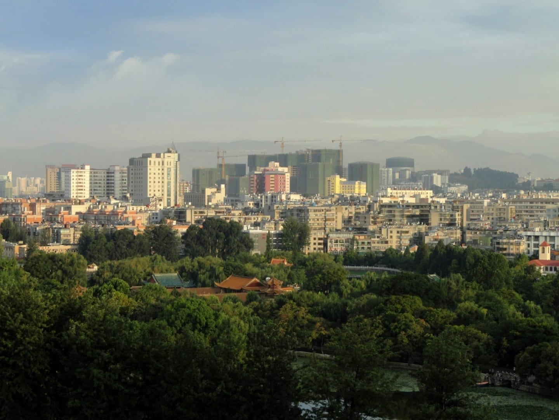 Kunming al amanecer Kunming China