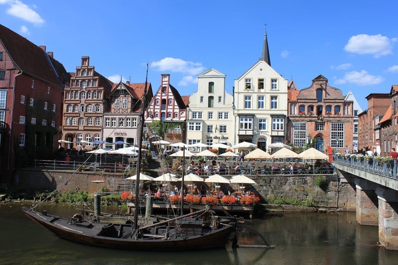 Lüneburg Centro Historico Arquitectura Alemania