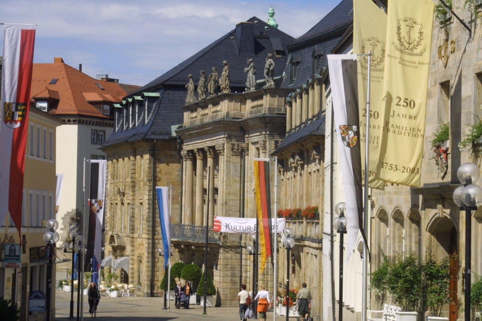 La Ópera de Bayreuth Bayreuth Alemania