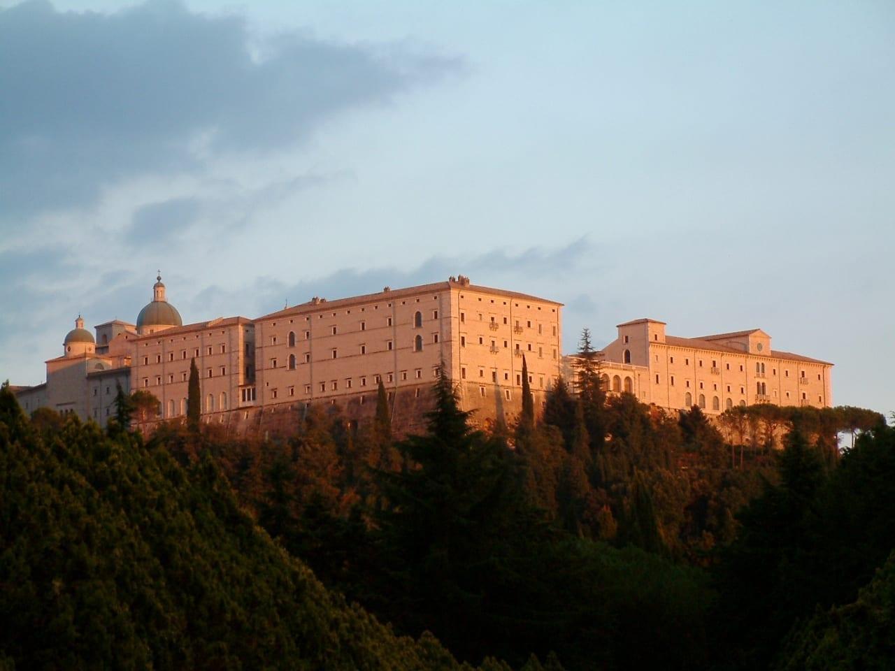 La Abadía de Monte Cassino Cassino Italia