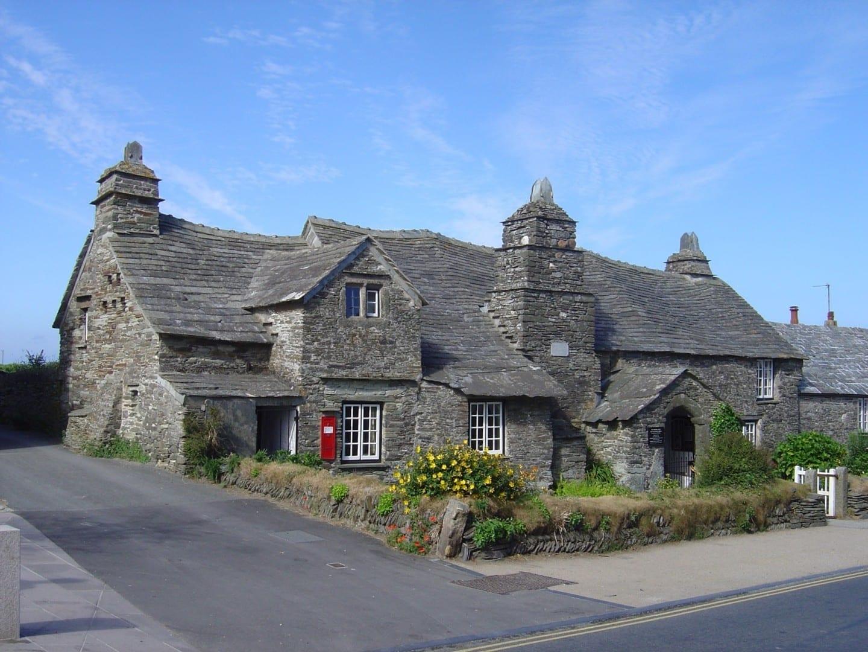 La antigua oficina de correos de Tintagel Tintagel Reino Unido