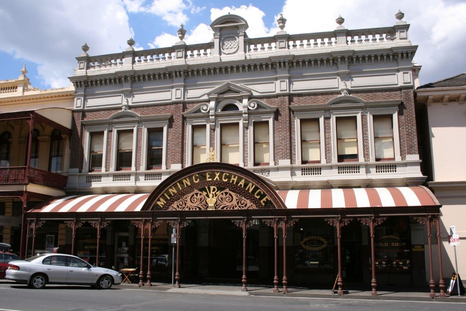La Bolsa de Minería de Ballarat, sede de la Bolsa de Diseño Ballarat Australia