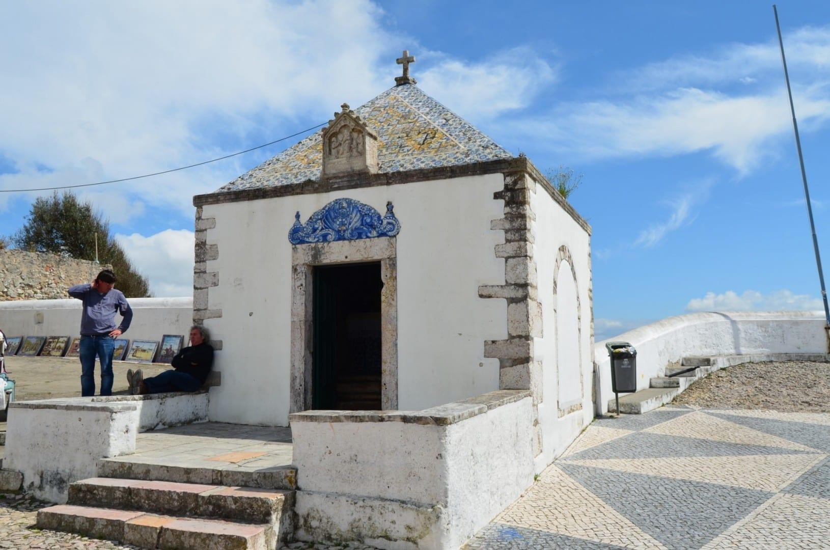 La Capilla de la Memoria de Nazaré Nazaré Portugal