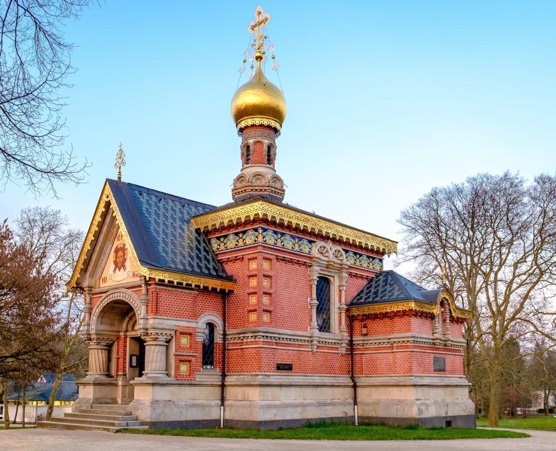 La capilla rusa Bad Homburg Alemania