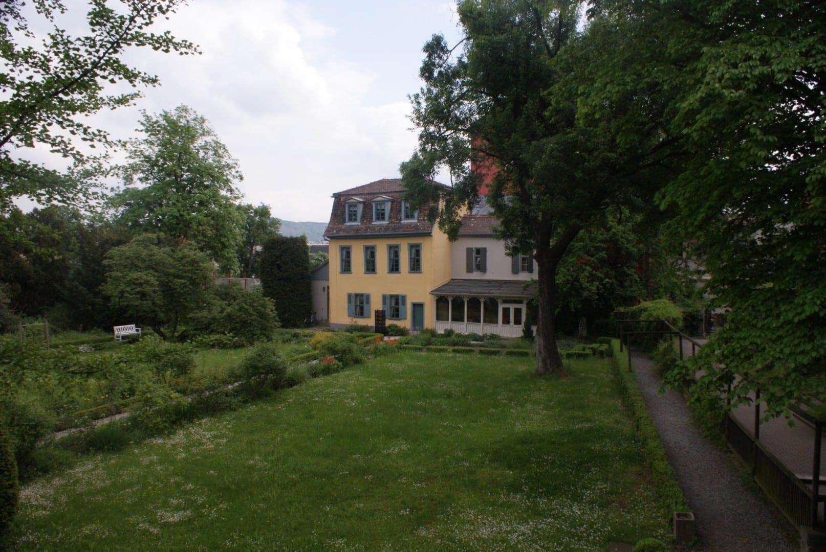 La casa del jardín de Schiller Jena Alemania