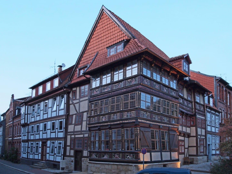 La Casa Wernersche después de la renovación 2011 Hildesheim Alemania