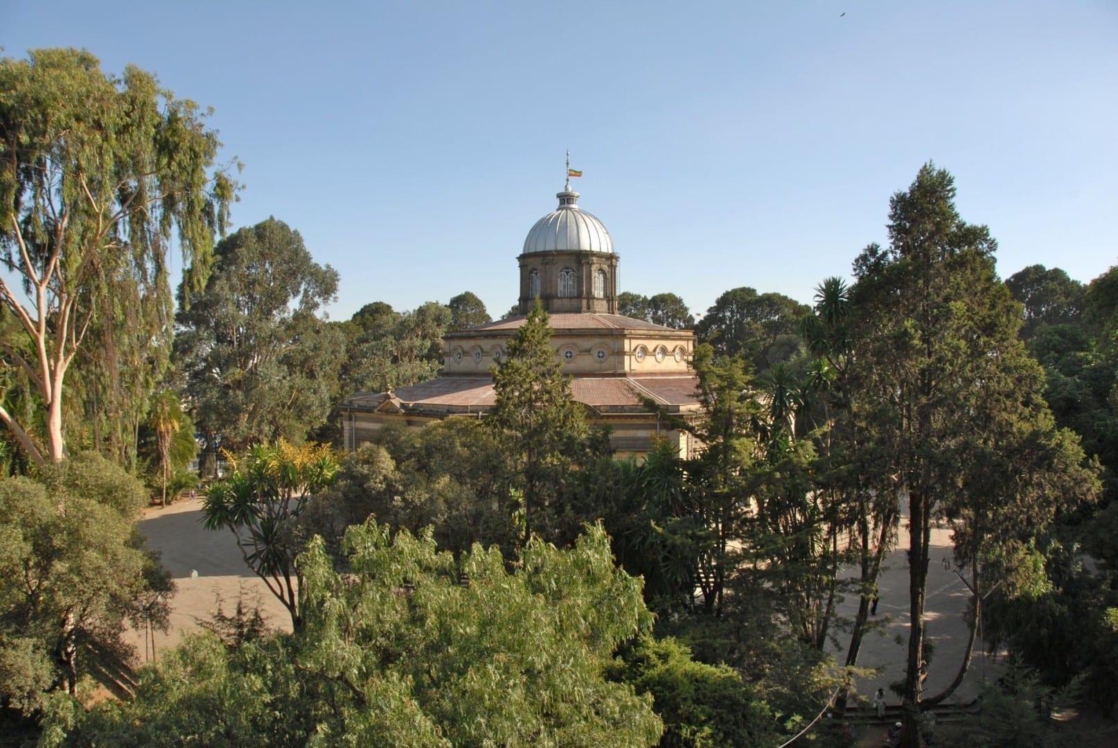 La Catedral de San Jorge Adís Abeba Etiopía