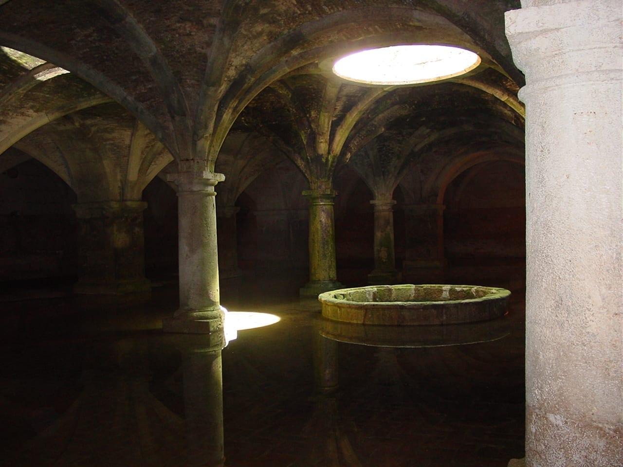 La cisterna de la fortaleza El Yadida Marruecos