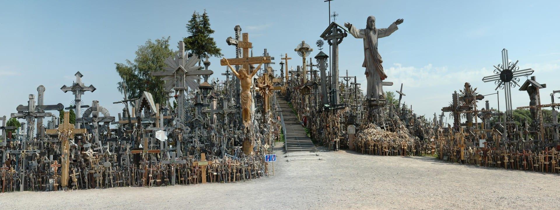 La Colina de las Cruces Siauliai Lituania