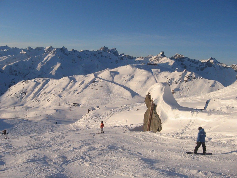 La economía de Ischgl depende de los deportes de invierno Ischgl Austria