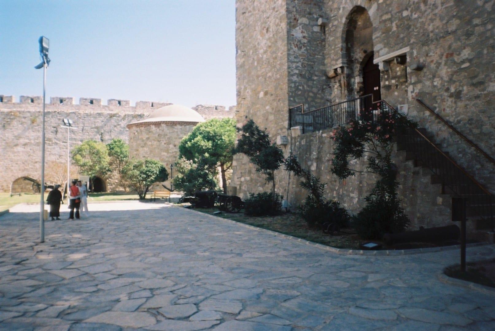 La fortaleza de Çanakkale Canakkale Turquía