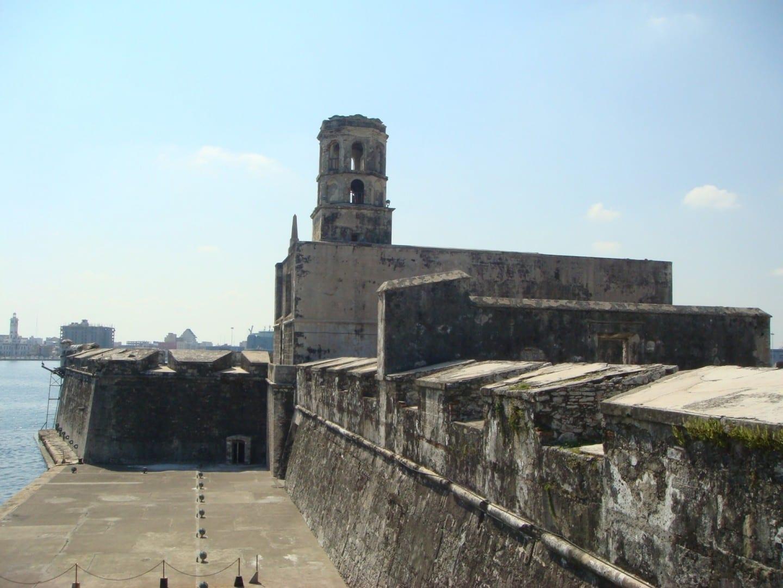 La fortaleza de San Juan de Ulúa. Veracruz México