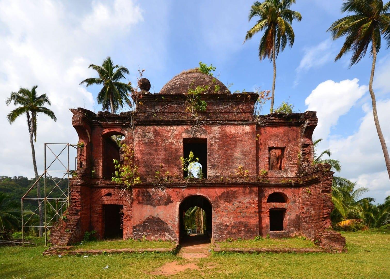 La horca en la Isla Víbora Port Blair India