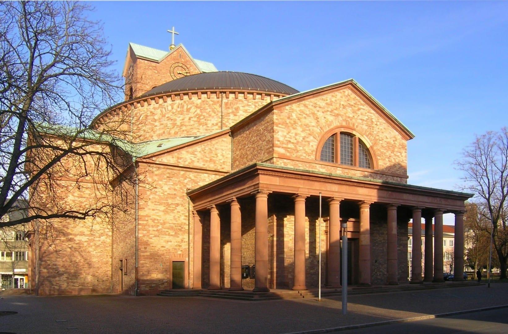 La Iglesia Católica de San Esteban Karlsruhe Alemania