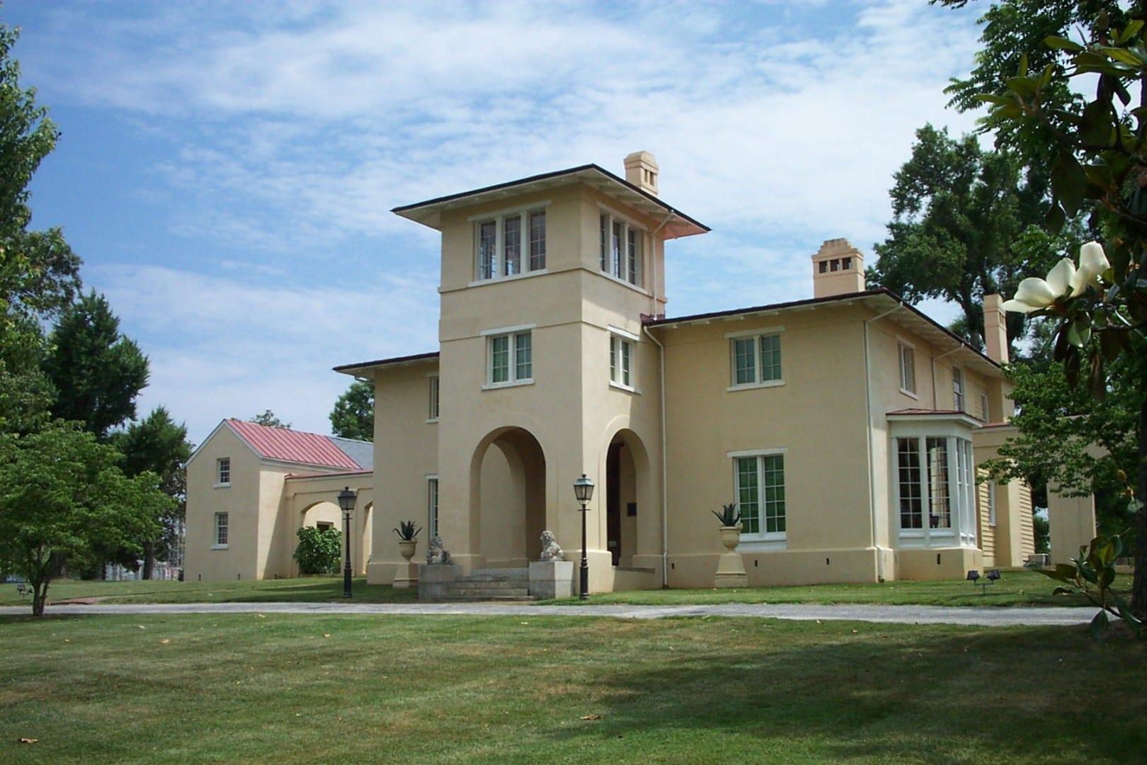 La mansión Blandwood Greensboro NC Estados Unidos