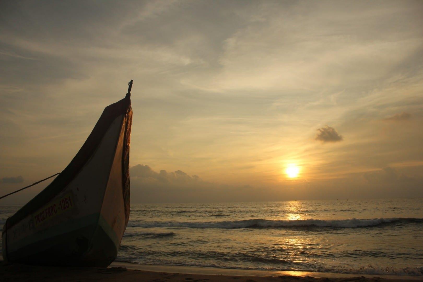 La playa de Edward Elliot Chennai India