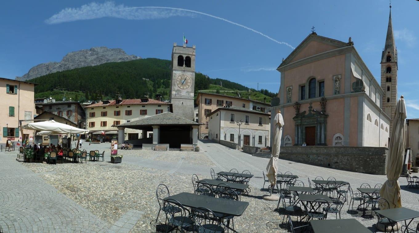 La plaza Bormio Italia