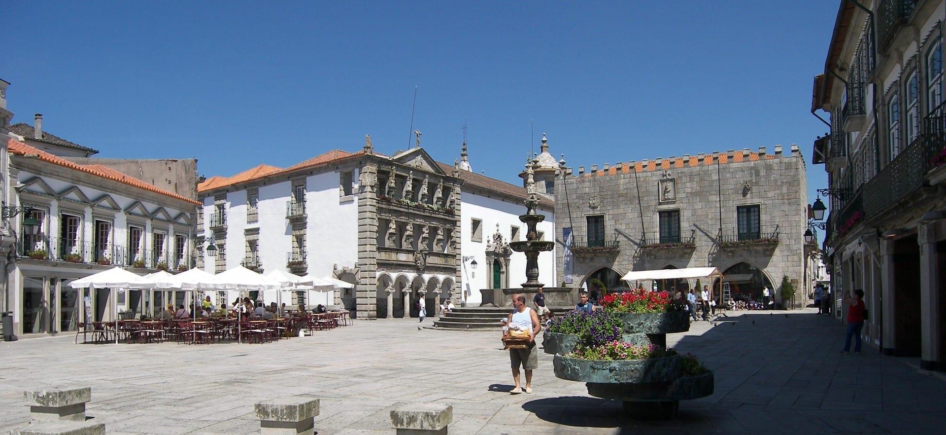 La Plaza de la República. Viana do Castelo Portugal