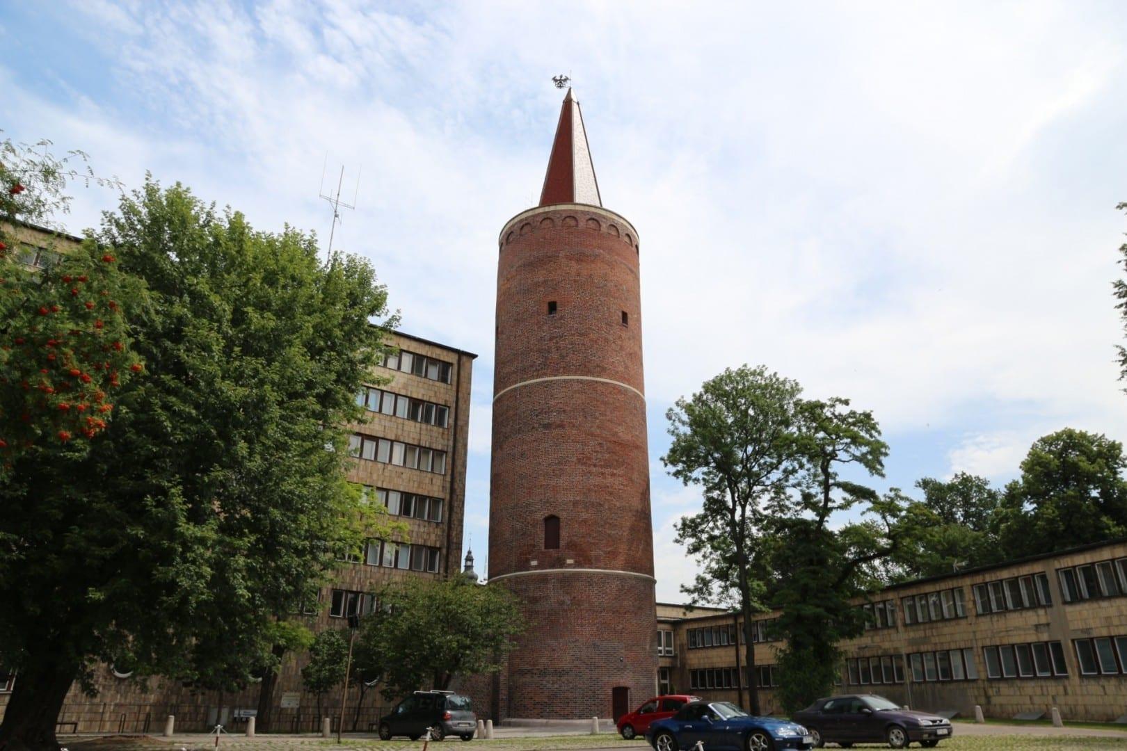 La torre de Piast del siglo 13/14 Opole Polonia