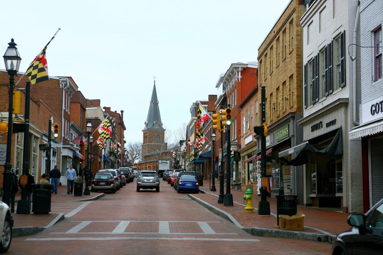 La vieja Annapolis Annapolis Estados Unidos